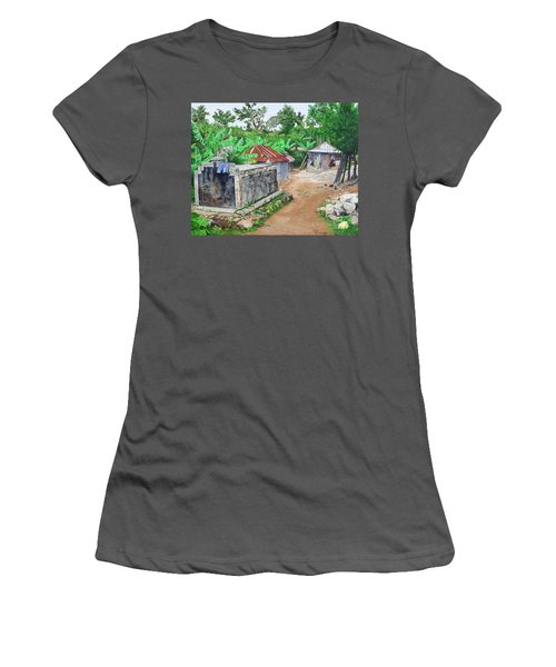 Rural Haiti - A Study In Poignancy Women's T-Shirt (Junior Cut)