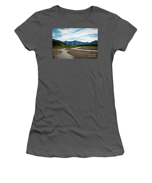 Rustic Water Women's T-Shirt (Athletic Fit)