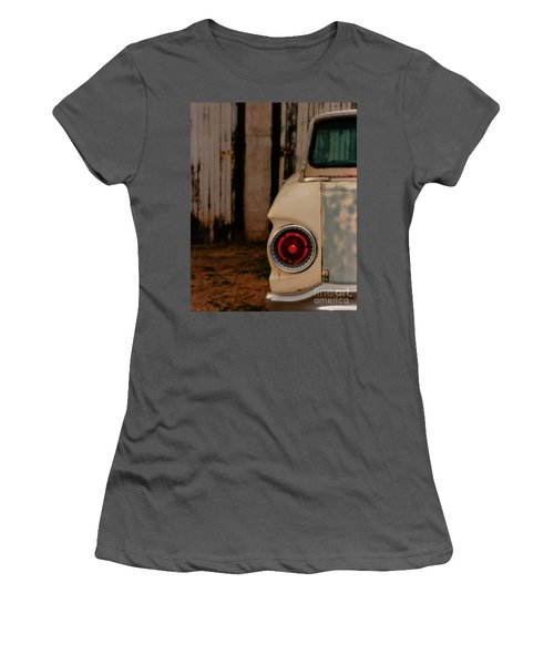 Rusty Car Women's T-Shirt (Athletic Fit)