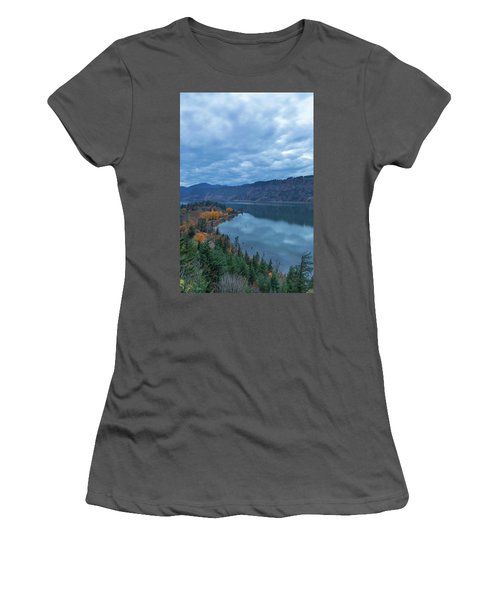 Ruthton Point During Evening Blue Hour Women's T-Shirt (Athletic Fit)