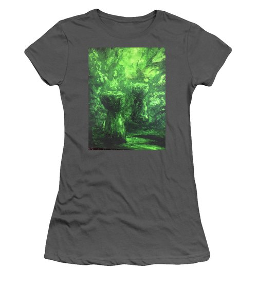 Sacred Latte Stones Women's T-Shirt (Athletic Fit)