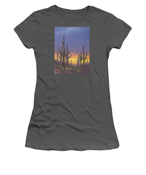 Saguaro Mosaic Women's T-Shirt (Athletic Fit)
