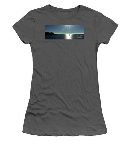 Sail Free Women's T-Shirt (Junior Cut) by Victor K