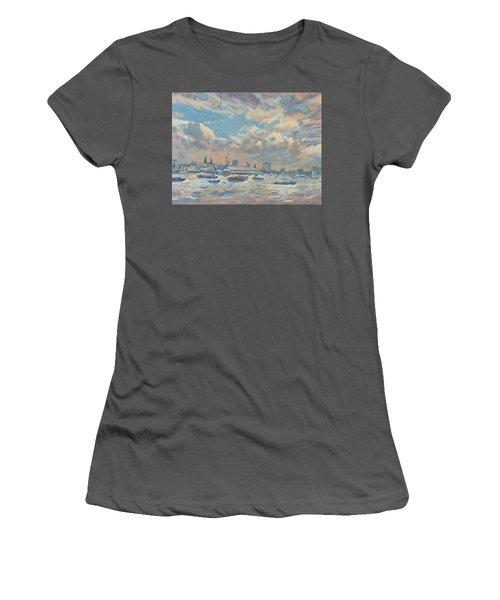 Sail Regatta On The Ij Women's T-Shirt (Athletic Fit)