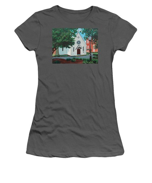 Saint Mary's Chapel Women's T-Shirt (Athletic Fit)