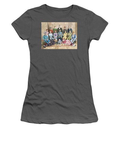Saltimbanques Women's T-Shirt (Athletic Fit)