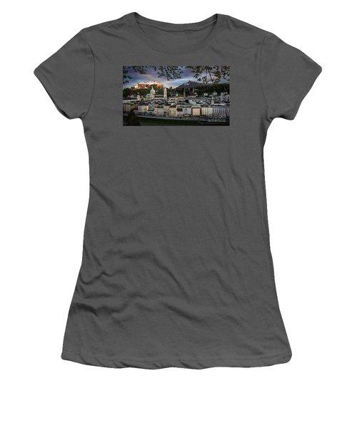 Salzburg Women's T-Shirt (Athletic Fit)