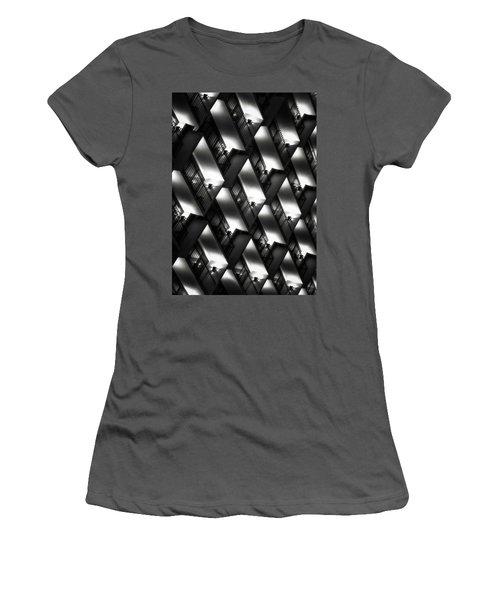 San Antonio At Night Women's T-Shirt (Junior Cut) by Eduard Moldoveanu