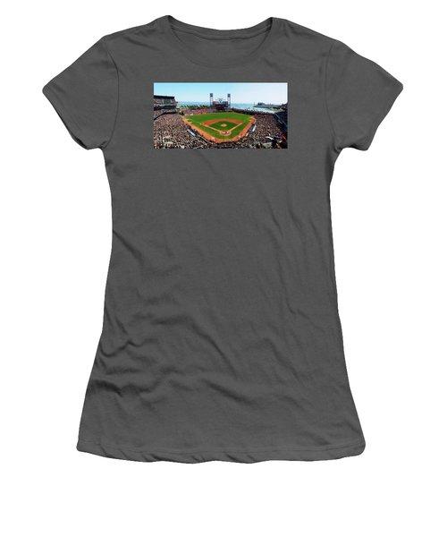 San Francisco Ballpark Women's T-Shirt (Athletic Fit)