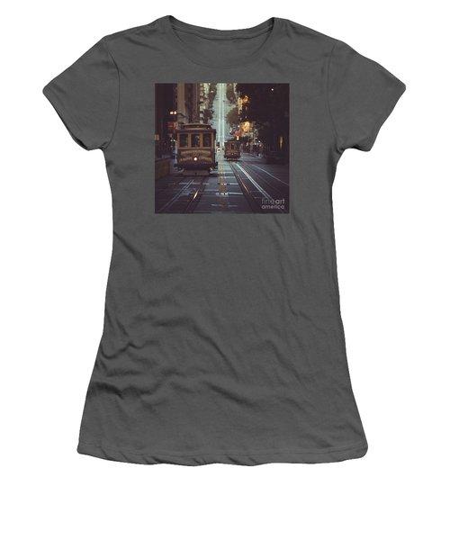 San Francisco Women's T-Shirt (Junior Cut) by JR Photography