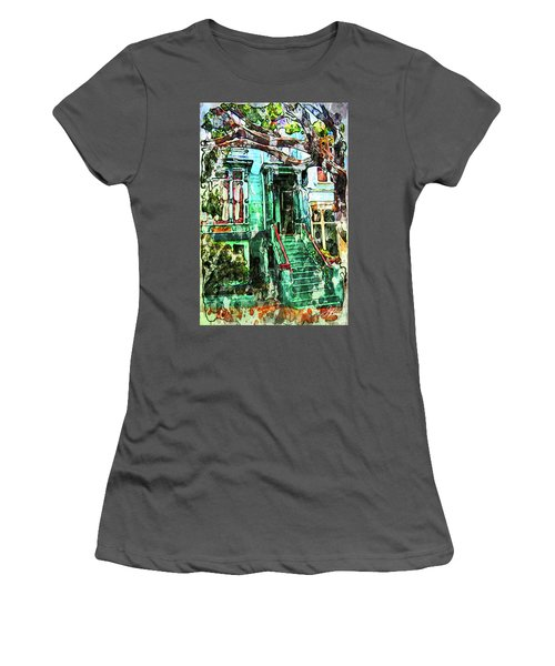 San Francisco Victorian Women's T-Shirt (Junior Cut) by Joan Reese
