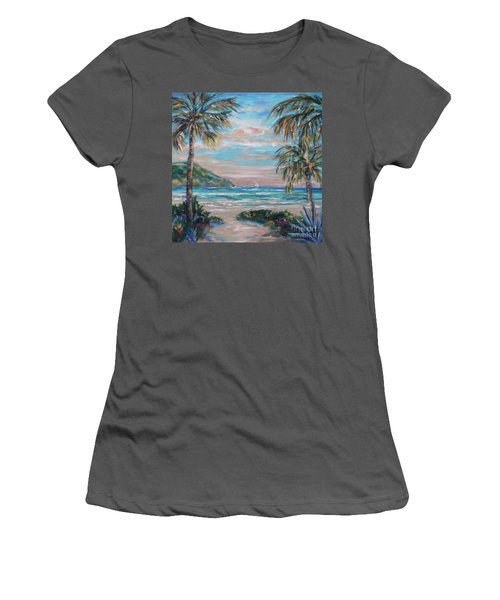 Sand Bank Bay Women's T-Shirt (Athletic Fit)