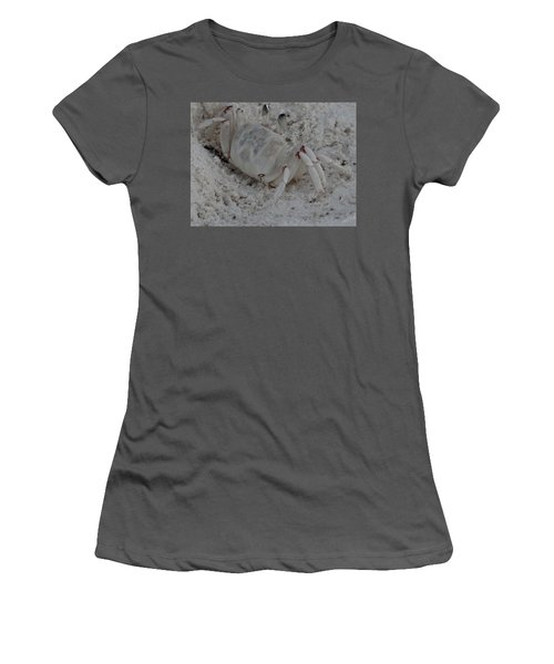 Sand Crab Women's T-Shirt (Athletic Fit)