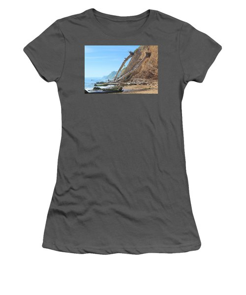 Santa Barbara Coast Women's T-Shirt (Athletic Fit)