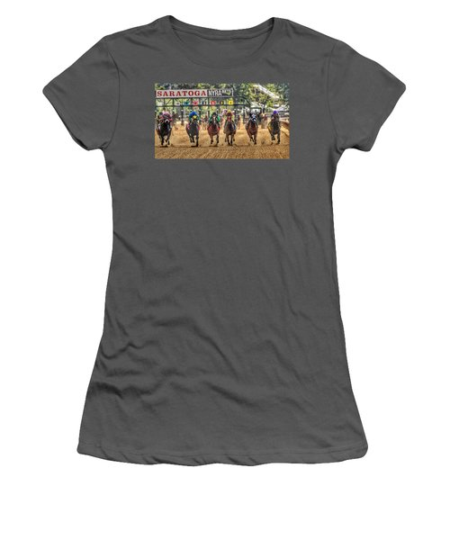 Saratoga Women's T-Shirt (Athletic Fit)