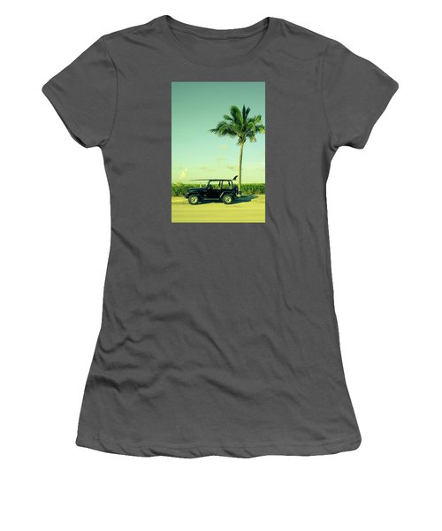 Women's T-Shirt (Junior Cut) featuring the photograph Saturday by Laura Fasulo