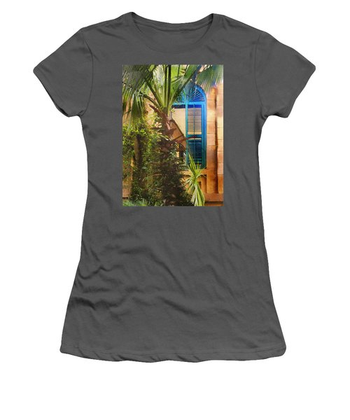 Savannah Window Women's T-Shirt (Athletic Fit)