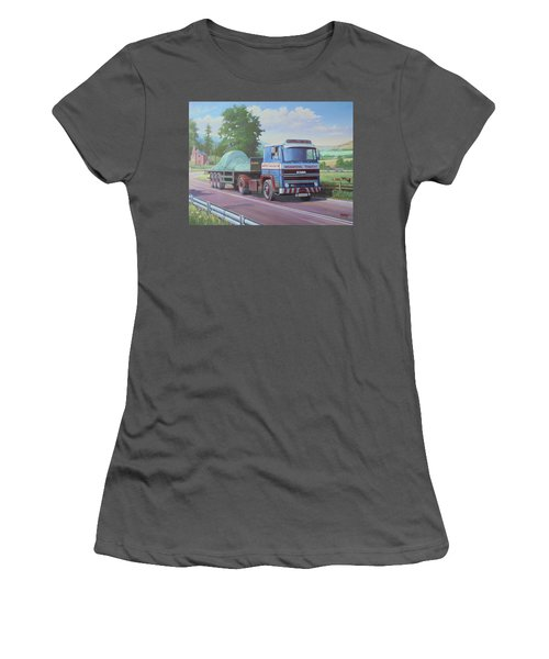 Scania Lloyds Of Ludlow Women's T-Shirt (Athletic Fit)