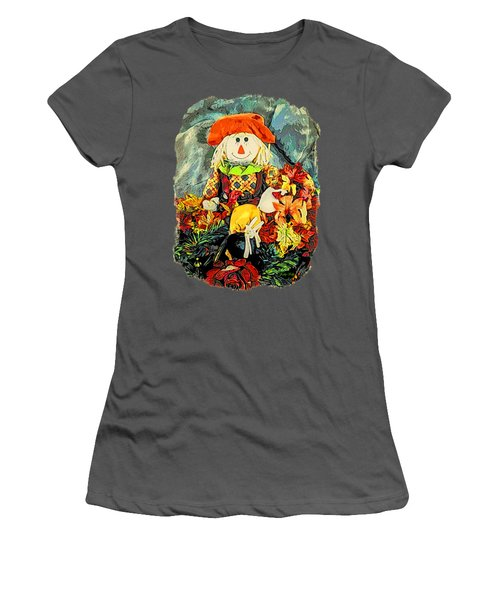 Scarecrow T-shirt Women's T-Shirt (Junior Cut) by Kathy Kelly
