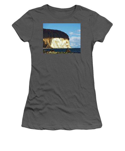 Scenic Rugen Island Women's T-Shirt (Junior Cut) by Anthony Dezenzio