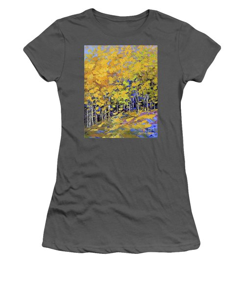 Scented Woods Women's T-Shirt (Junior Cut) by Tatiana Iliina