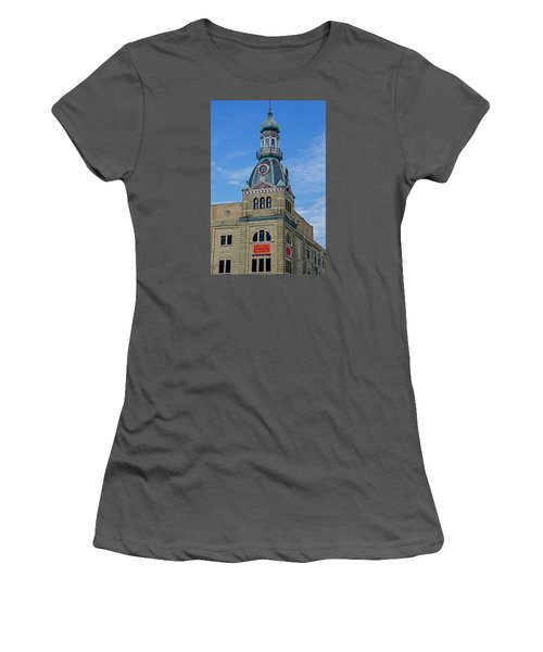 Schlitz Brewing Company 8 Women's T-Shirt (Junior Cut) by Susan  McMenamin