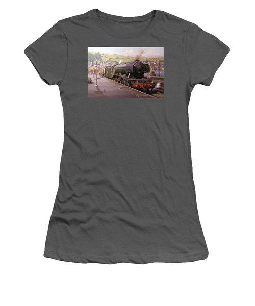 Scotsman At Kingswear Women's T-Shirt (Athletic Fit)