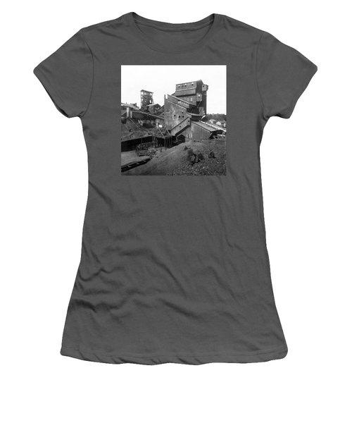 Scranton Pennsylvania Coal Mining - C 1905 Women's T-Shirt (Athletic Fit)