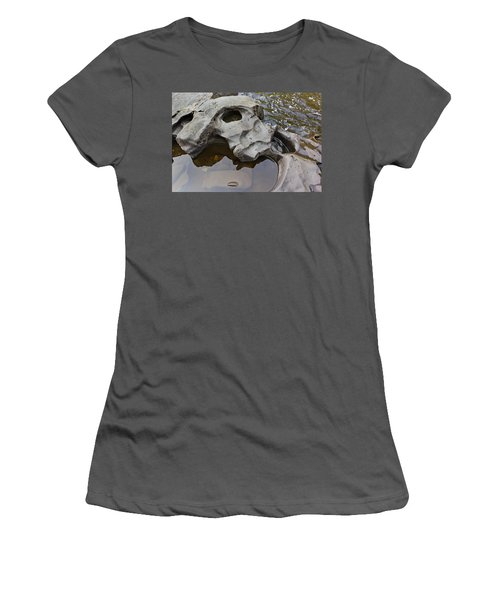 Sculpted Rock Women's T-Shirt (Junior Cut) by Peter J Sucy
