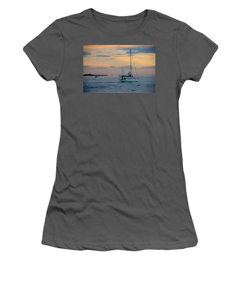 Sd Sunset 3 Women's T-Shirt (Athletic Fit)