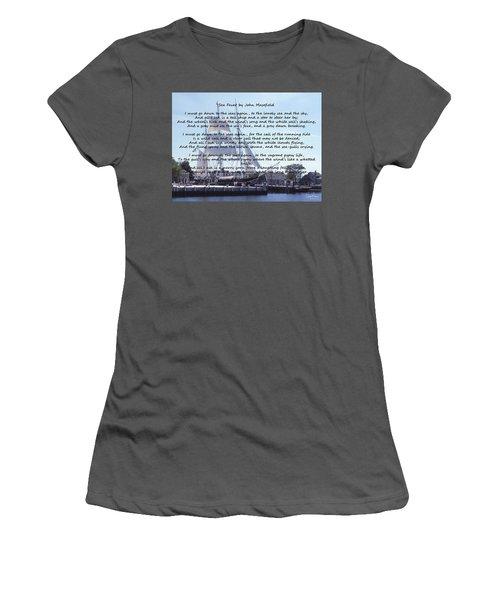 Sea Fever Women's T-Shirt (Athletic Fit)