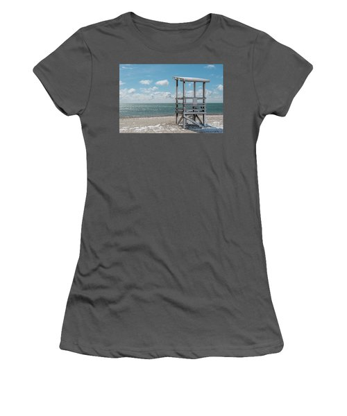 Sea Gull Beach #2 Women's T-Shirt (Athletic Fit)