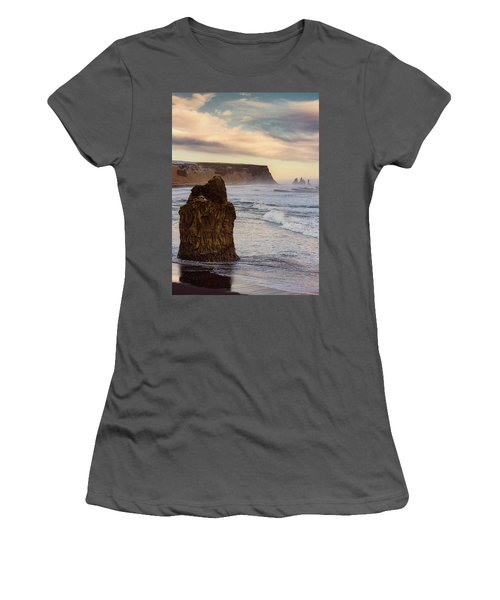 Sea Stack II Women's T-Shirt (Athletic Fit)