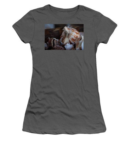 Seashells  Women's T-Shirt (Athletic Fit)