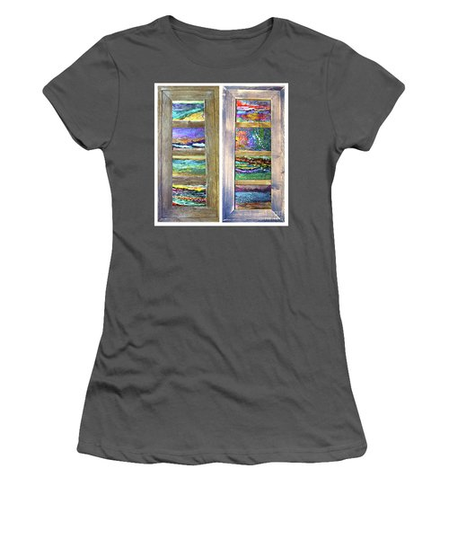 Seasides Women's T-Shirt (Athletic Fit)