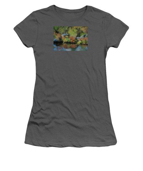 Seasons In Transition Women's T-Shirt (Junior Cut)