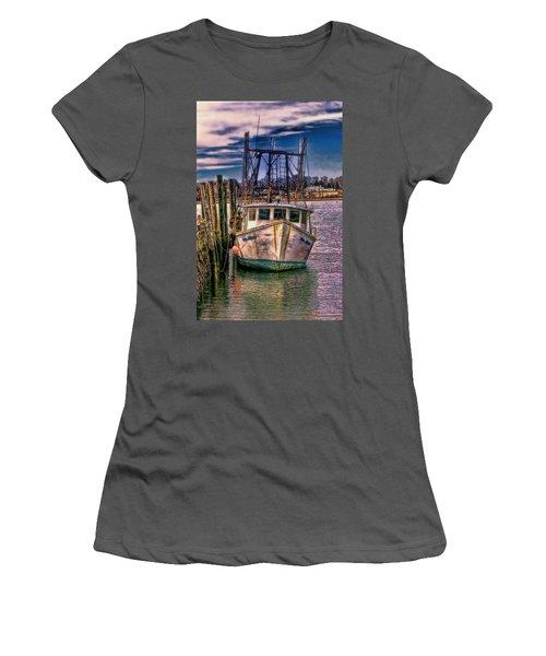 Seaworthy II Bristol Rhode Island Women's T-Shirt (Junior Cut) by Tom Prendergast