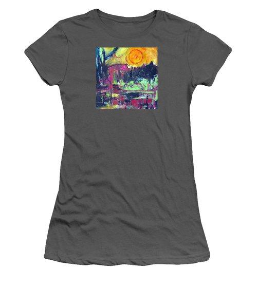 Secret Garden Women's T-Shirt (Junior Cut) by Betty Pieper