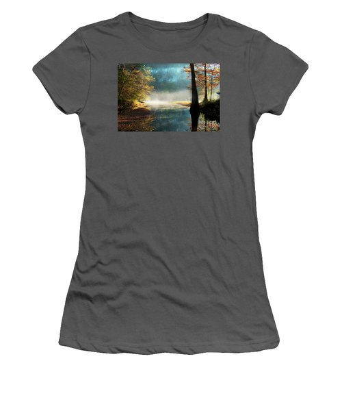 Secret Hideaway At Beavers Bend Women's T-Shirt (Athletic Fit)