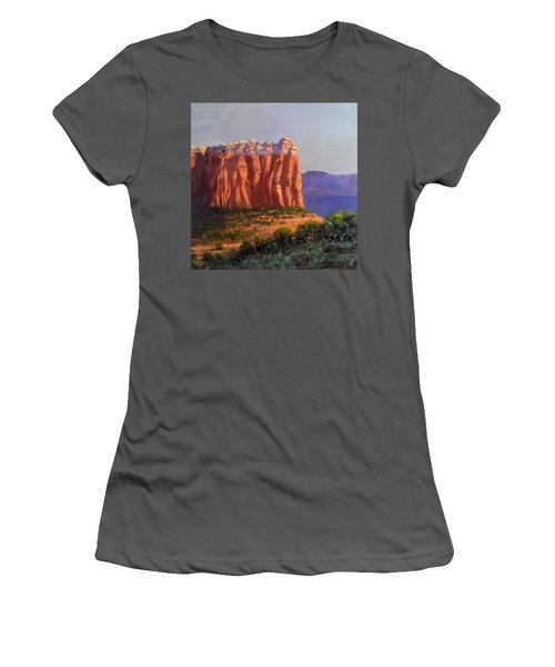 Sedona Red Rocks Women's T-Shirt (Athletic Fit)