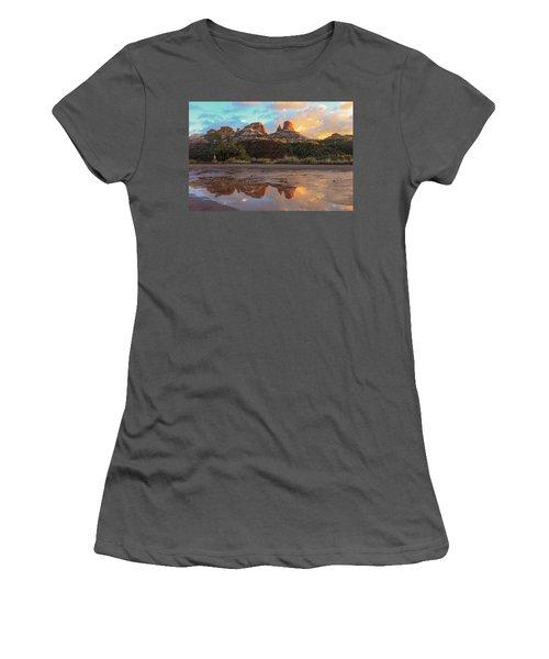 Sedona Reflections Women's T-Shirt (Athletic Fit)