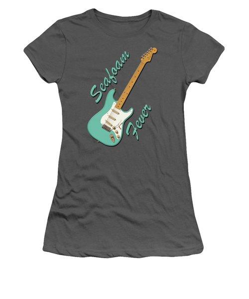 Seafoam Fever Women's T-Shirt (Athletic Fit)