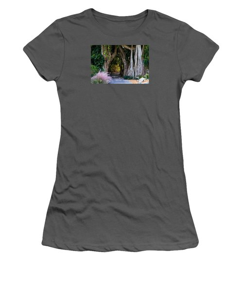 Selby Secret Garden 2 Women's T-Shirt (Athletic Fit)