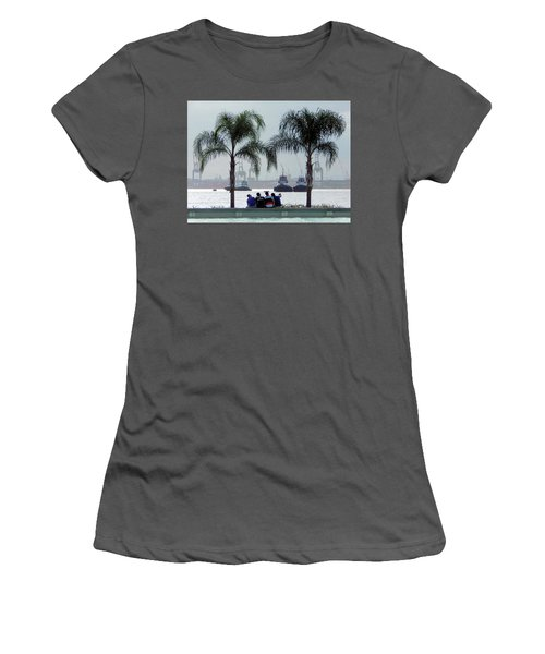 Selfie Us Women's T-Shirt (Junior Cut) by Beto Machado