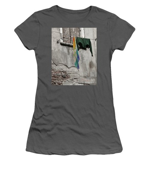 Women's T-Shirt (Junior Cut) featuring the photograph Semplicita - Venice by Tom Cameron
