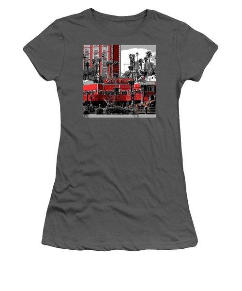 Women's T-Shirt (Junior Cut) featuring the photograph Senor Frogs by Ricardo J Ruiz de Porras