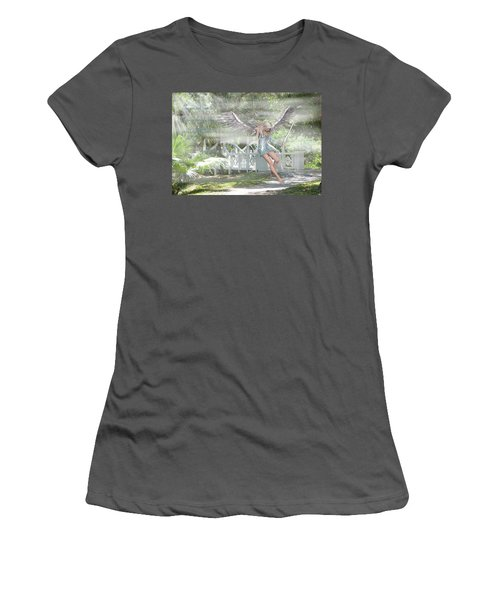 Sent From Heaven Women's T-Shirt (Junior Cut) by Rosalie Scanlon