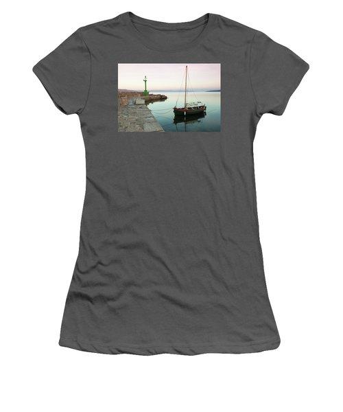Serene Awakening Women's T-Shirt (Athletic Fit)