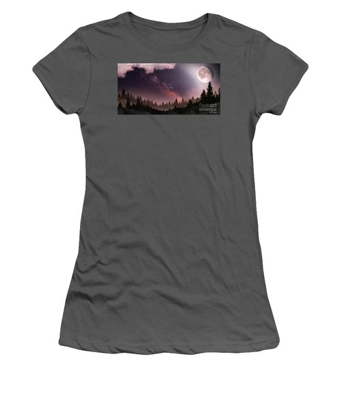 Women's T-Shirt (Junior Cut) featuring the digital art Serenity by Anthony Citro