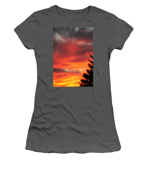 Desert Sunburst Women's T-Shirt (Athletic Fit)